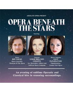 Opera Beneath The Stars (Thu 9th September - 7.30pm)