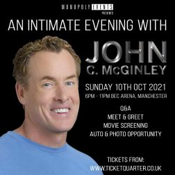 An Evening with John C McGinley (Oct 10th)