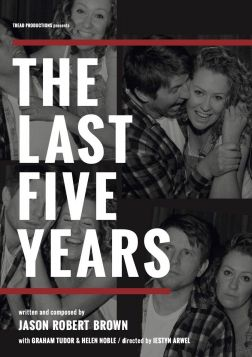 The Last Five Years (Fri 3rd September - 5pm & 8pm)